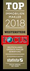 Pistoor Immobilien Westerstede - Focus Top Immobilienmakler 2018